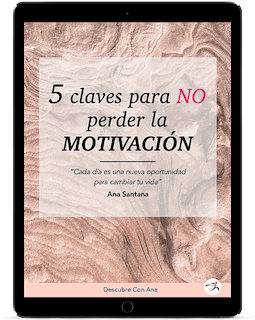 iPad mock up 5 claves para no perder la motivación